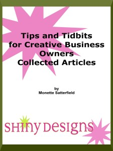 "New on Kindle: ""Tips and Tidbits for Creative Business Owners"""